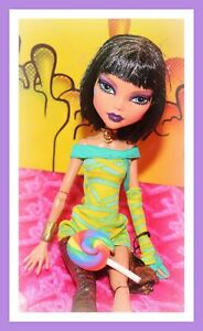 Monster-High-Cleo-de-Nile-Dawn-of-the-Dance-Mummy-Doll-Dress-Outfit-Purse