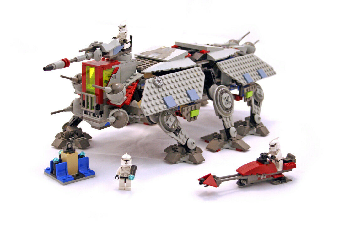 Lego 4482 Star Wars AT-TE Complete NO Instructions
