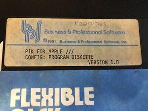 PIK for Apple III Diskette - Apple III Computers