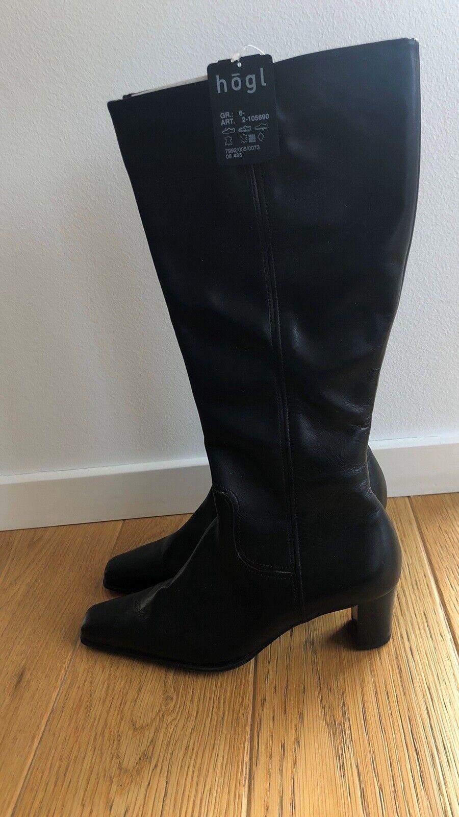 Hogl Støvler sort farve