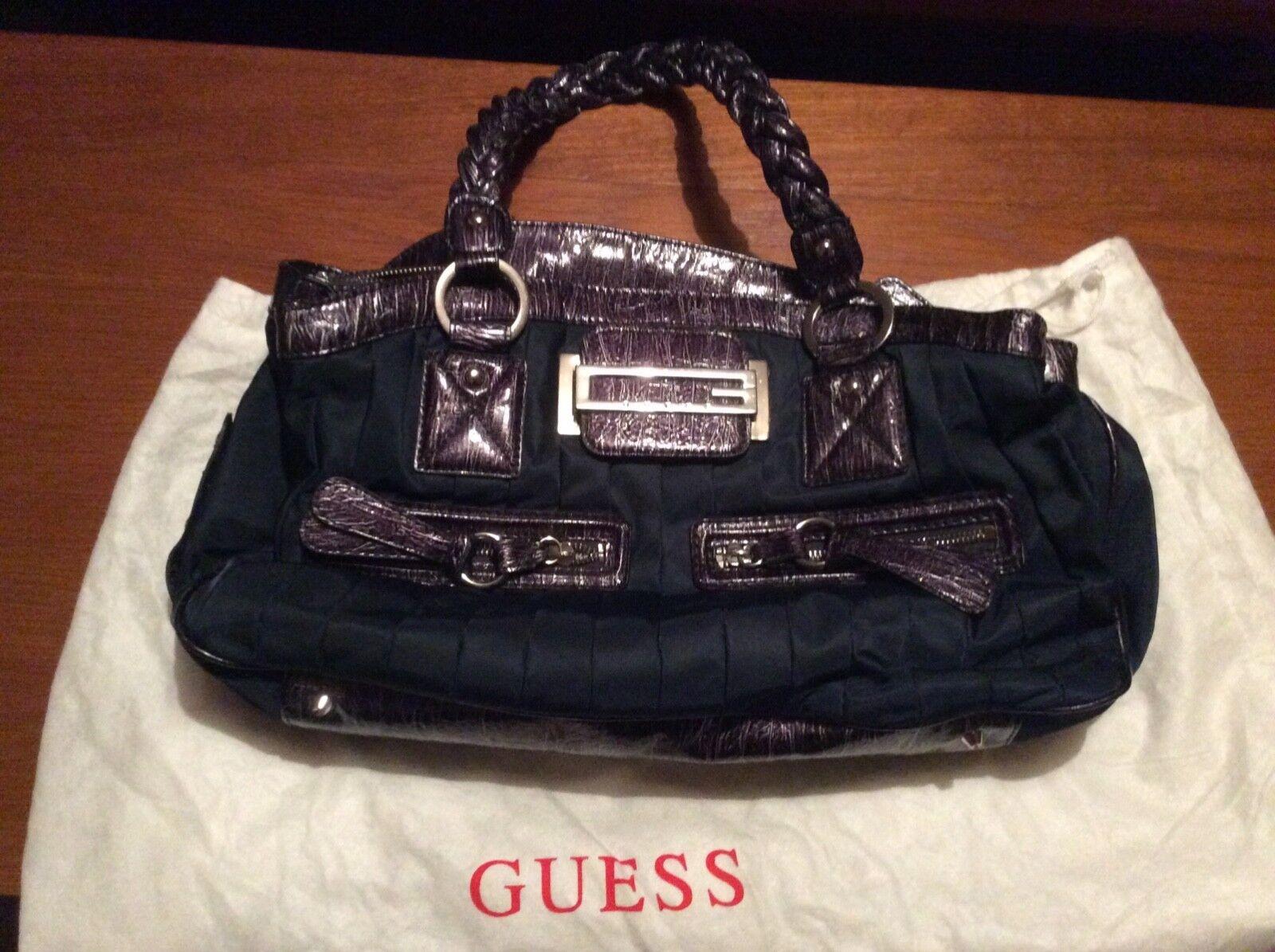 4fb7d28ecc8f3 Shopping Bag GUESS Vikky With Clutch Bag Vg6995230 Navy for sale ...