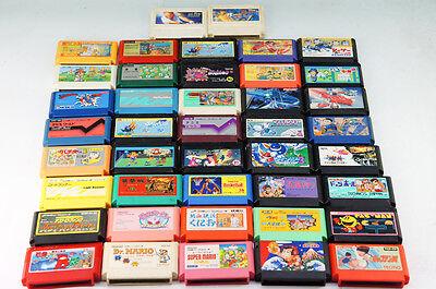 Nintendo FamiCom Game Software 42 set wholesale MARIO KIRBY GOLF  355k12