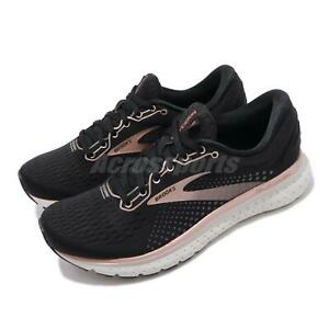 Brooks Glycerin 18 Metallic Collection Black Pink Women Running Shoes 120317 1B