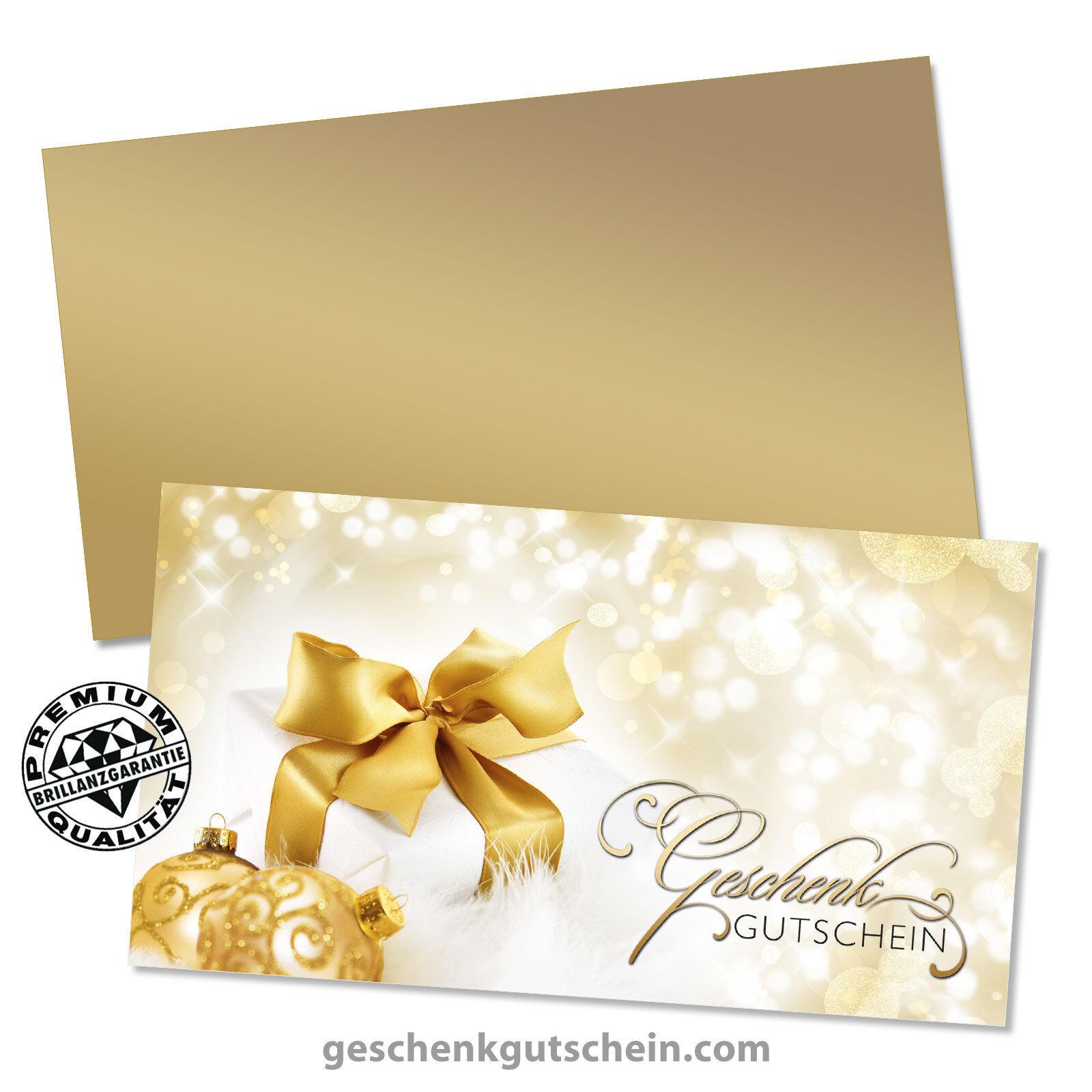 Weihnachts-Geschenkgutscheine mit KuGrüns für alle Branchen X1218  | Offizielle  | Abrechnungspreis
