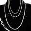 Sterling-Silver-plated-3-4-5MM-Twisted-Rope-Chain-Necklace-16-034-24-034-Mens-Womens thumbnail 1