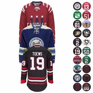 NHL-Official-Premier-Player-Team-Jersey-Collection-by-REEBOK-Men-039-s