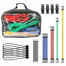 Bungee Cords With Hooks Heavy Duty 30 Pcs Bungee Cords Set Includes 10 18 2