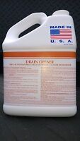 Citrus Liquid Drain Cleaner Grease Trap Cleaner Patriot Chemical Sales 1 Gal