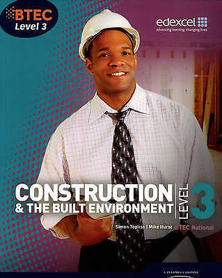 1 of 1 - BTEC Level 3 National Construction and the Built Environment Student-ExLibrary