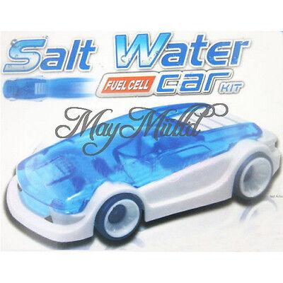 Kid Creative Design Salt Water Magic Power Toy Car DIY Assembled Novelty Child O