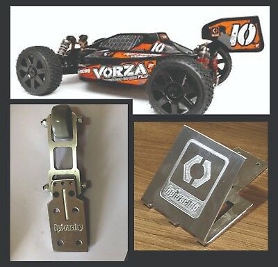 HPI vorza Front Wing And Rear Wing F-1 For Top Speed Drag Racing