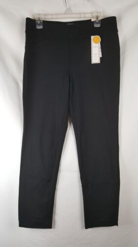 12P 8P Charter Club Women/'s Petite Black Slim Leg Pants SZ 2P Short 10P