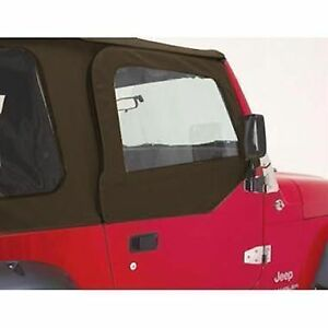 Image is loading R&age-Window-Frames-&-Door-Skins-Kit-97-  sc 1 st  eBay & Rampage Window Frames u0026 Door Skins Kit 97-06 Jeep Wrangler TJ LJ ... pezcame.com