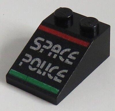 LEGO 3 x Schrägstein 33° 3x2 2x3 Space Police schwarz 3298pb010
