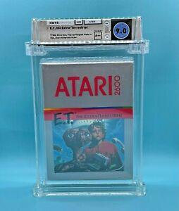 ATARI 2600 - E.T. THE EXTRA-TERRESTRIAL - FACTORY SEALED - WATA 9.0 A++  ** 1982