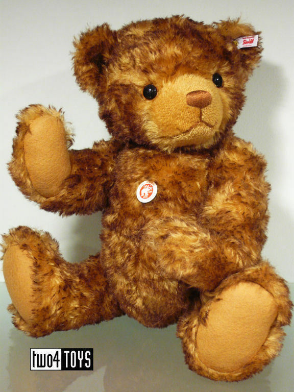 STEIFF Ltd HUGE TEDDY BEAR LITTLE TOM - 22.4in./56 cm EAN 021046 BOXED RETIrosso