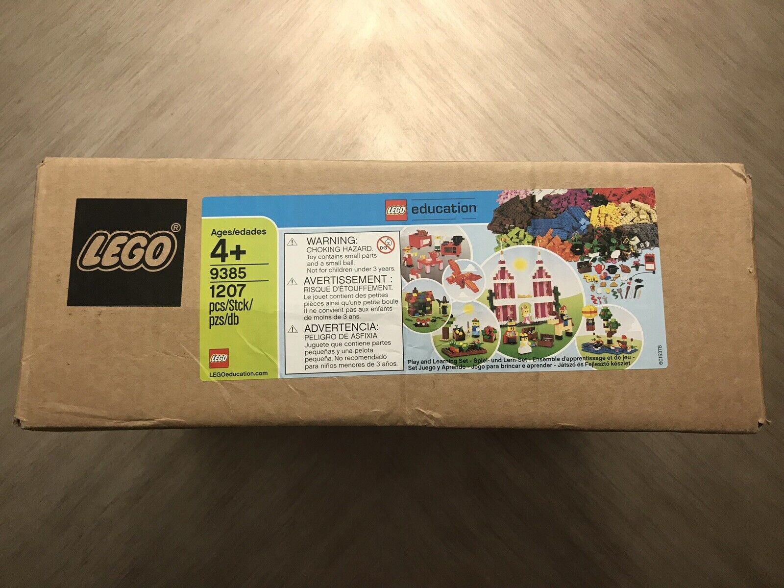 LEGO 9385 Education Sceneries Set New Sealed