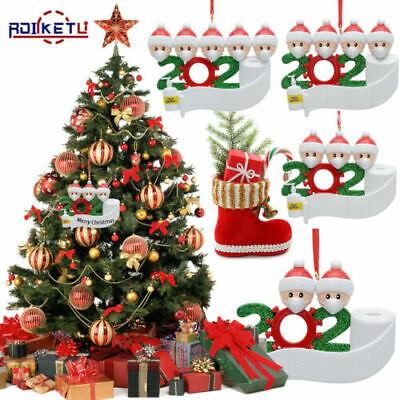 Christmas Ornament Quarantine 2020 Mask Toilet Paper XMAS Family Personalized | eBay