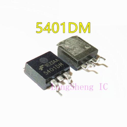 5pcs 5401 S401DM 54O1DM 540IDM 5401D 5401OM 5401DM FDC5401DM TO263 new