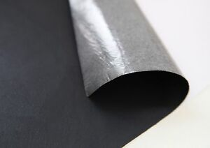 2-x-Black-Faux-leather-FABRIC-STICKER-SHEET-DIY-craft-sticker-self-adhesive-FH