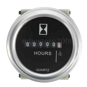 DC-10-80-V-High-Accuracy-Boat-Car-Truck-Engine-Round-Hour-Meter-Hourmeter