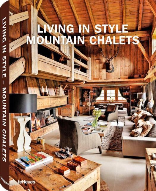 Living in Style Mountain Chalets von Gisela Rich, Zustand wie neu