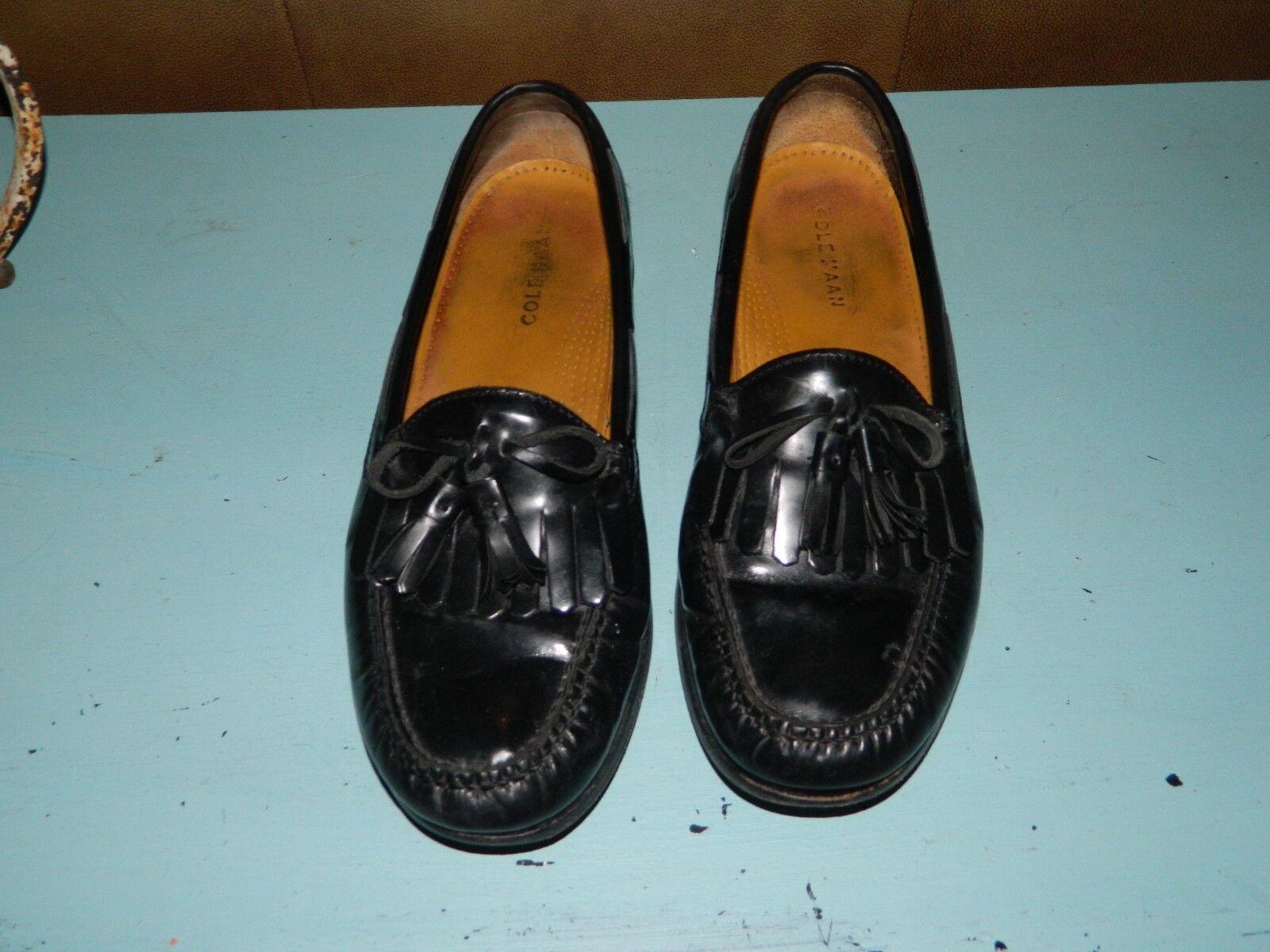 Cole Haan Loafers Pinch Moc Toe Tassel Kiltie Mens Slip On shoes C02691 Size 9D