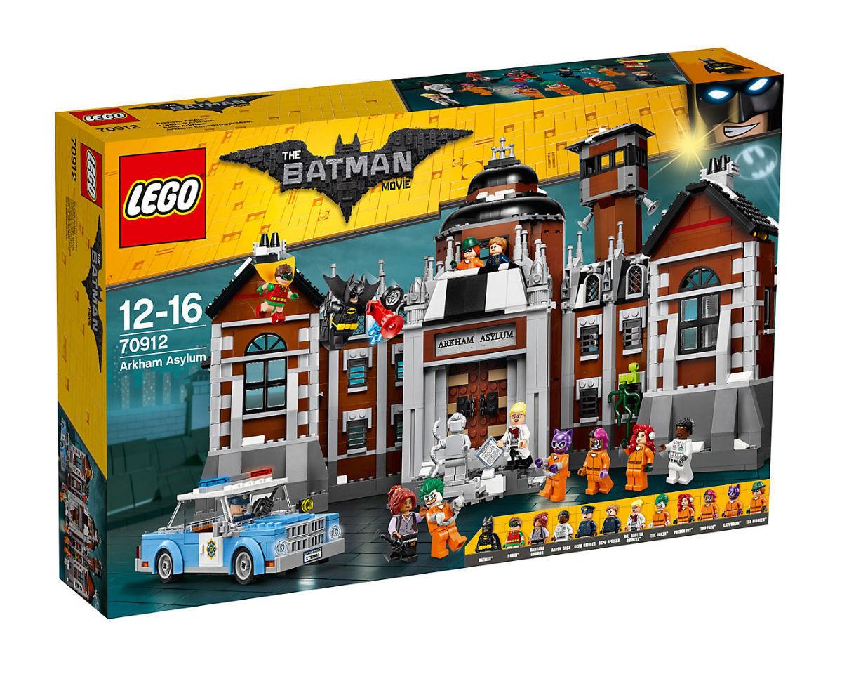 LEGO Batman Movie Arkham Asylum 2017