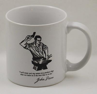 John Deere Coffee Cup Mug Go With The Green 1989