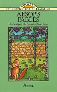 Aesops-Fables-Dover-Childrens-Thrift-Classics-by-Aesop