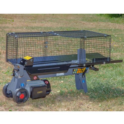verstellbarer Spaltweg 7 Tonnen STAHLMANN® Hydraulik-Holzspalter liegend