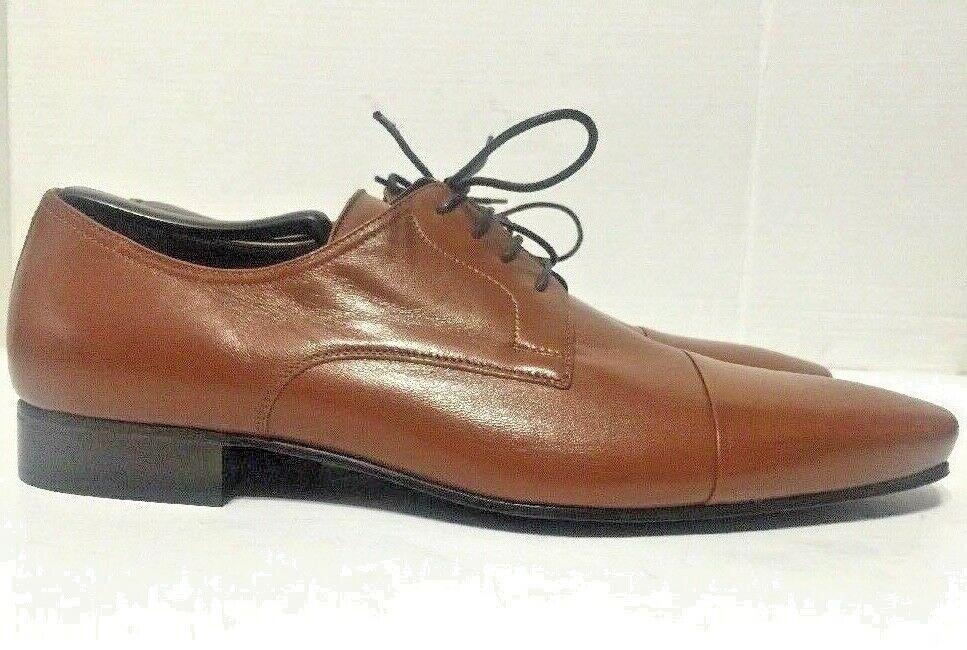 Bruno Magli Martico Derby Shoes Brown