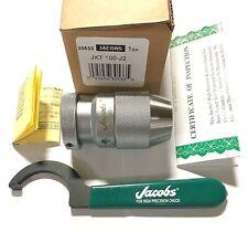 Jacobs Jkt 100 J2 High Torque Precision Keyless Drill Chuck 0394 Capacity