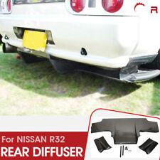 a 3pcs Rear Under Diffuser for Nissan Skyline R32 GTR GTS Ts