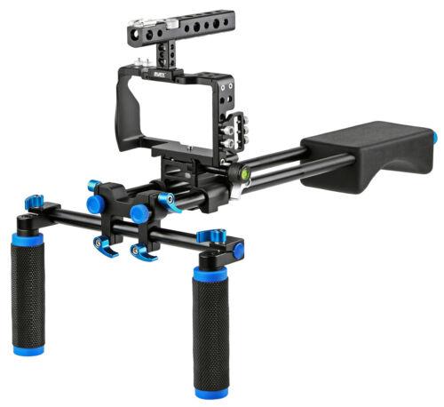 A6300 Kamera-Cage für Sony Alpha A6000 ayex Video-Rig inkl A6500
