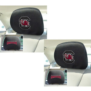 9b3e117c627 2pc NCAA South Carolina Gamecocks Automotive Gear Car Truck Headrest ...