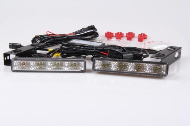 8W 8 LEDs LED TFL DRL Tagfahrlicht  R87 Modul E-Prüfzeichen Toyota