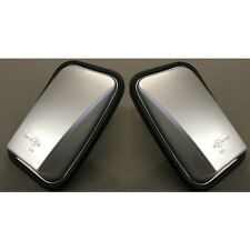 LAND ROVER DEFENDER SILVER GLOSS MIRRORS - COMES AS A PAIR WITH GLASS - LRC1067