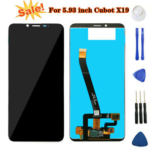 "For 5.93"" inch Cubot X19 LCD Display+Touch Screen Digitizer Assembly with Tools"