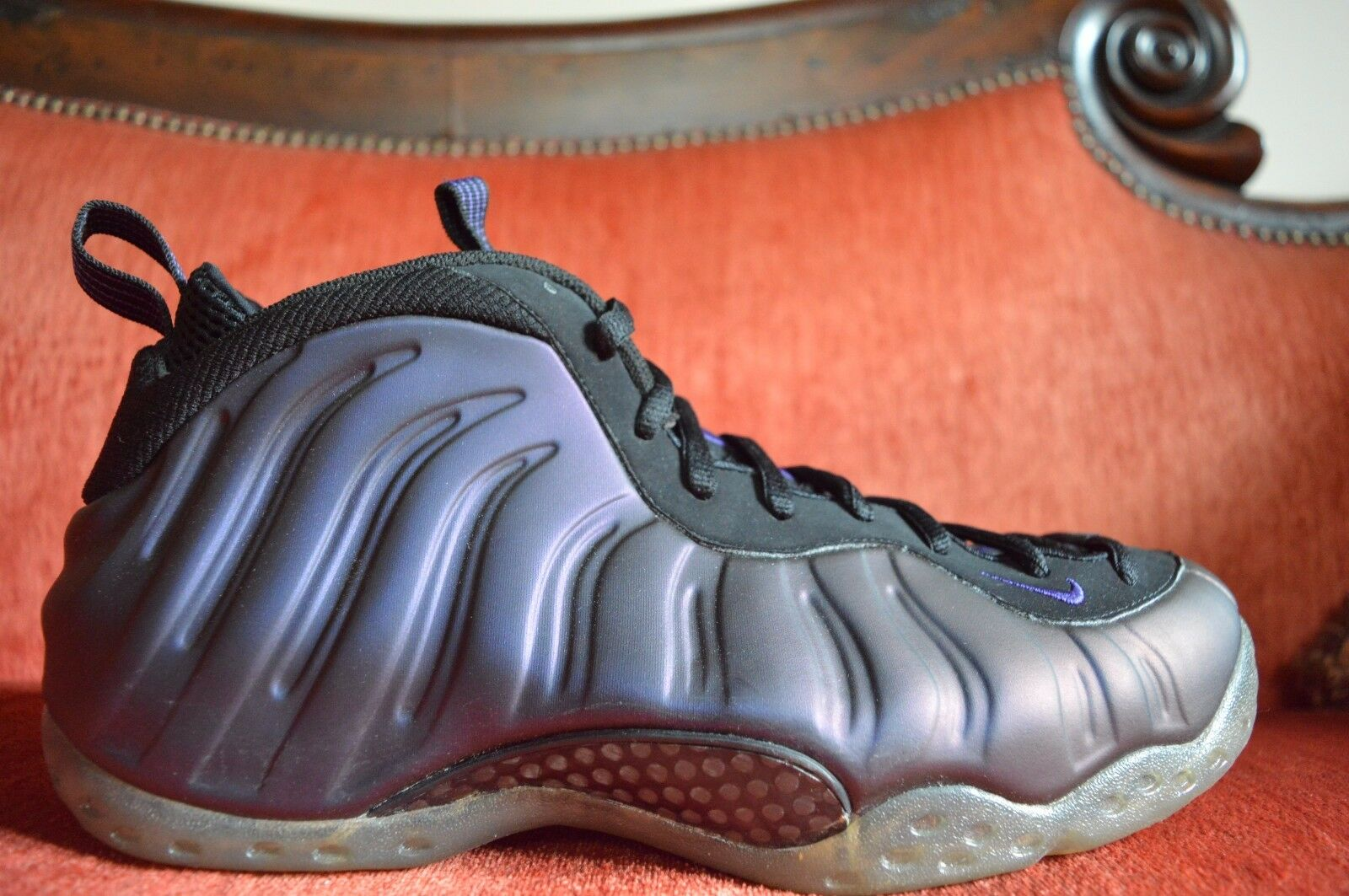 WORN ONCE Nike Air Foamposite One Eggplant Comfortable Special limited time