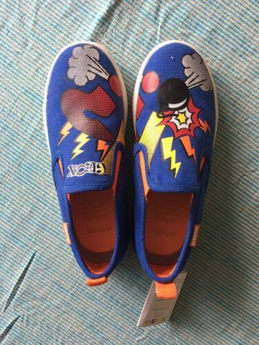 Eu32 animados de Bombas de impresión zapatos de dibujos Geox Uk13 tamaño Boys RqTZRnU