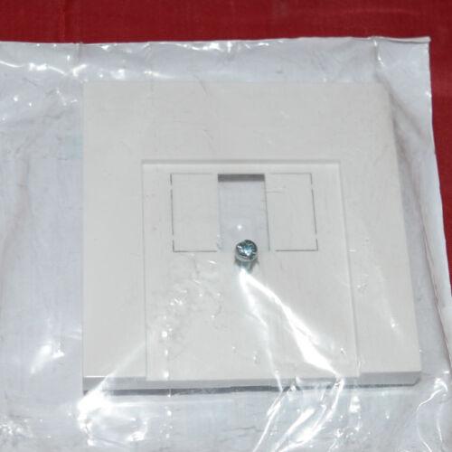 pour TAE Port doses Blanc Virginal Gira 0276112 faces Interrupteur Abd b65