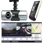 """2.7"""" Vehicle 1080P Car DVR Camera Video Recorder Dash Cam G-Sensor GPS Dual Lens"""