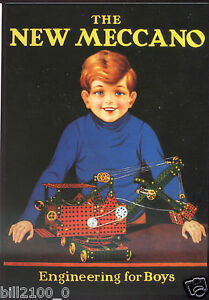 Carte Postale Robert Opie . The New Meccano Nkh6sfjh-07164219-791253107
