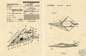 F 117 Stealth Fighter Drawing Lockheed F117 STEALTH ...