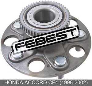 Rear-Wheel-Hub-For-Honda-Accord-Cf4-1998-2002