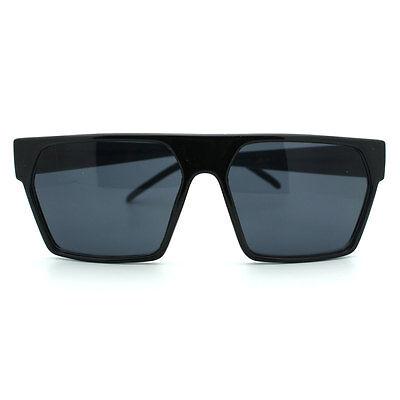 RETRO MODERN Sunglasses SQUARE FLAT TOP Chic Stylish UNISEX Fashion Shades NEW
