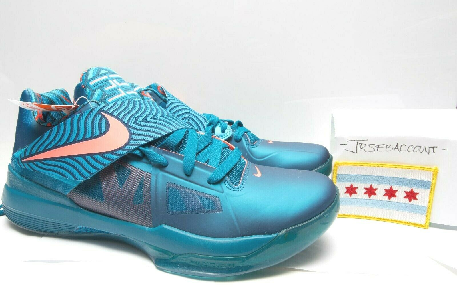 Nike Zoom KD IV 4 - YOTD Year of the Dragon - Size 11 - 473679-300