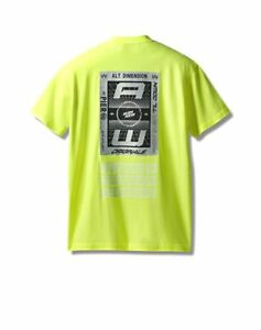yellow green adidas t shirt