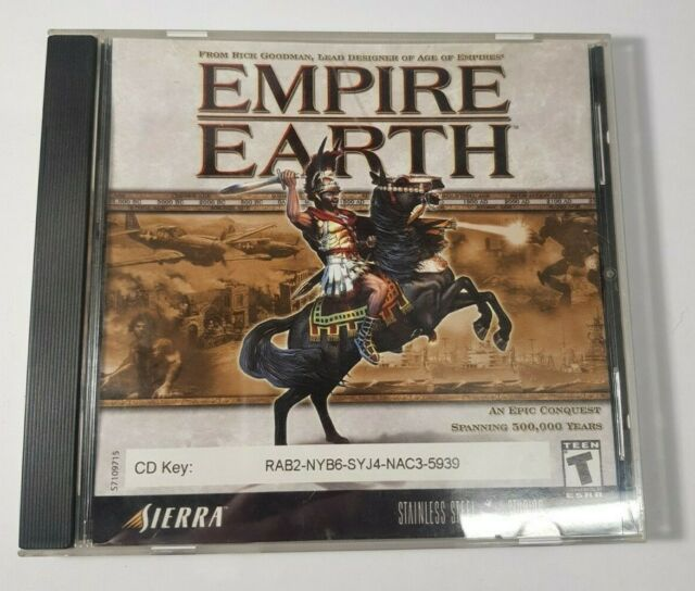 Sierra Empire Earth (PC, 2001)